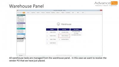Warehouse Panel